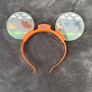 Light up Mickey Mouse ears
